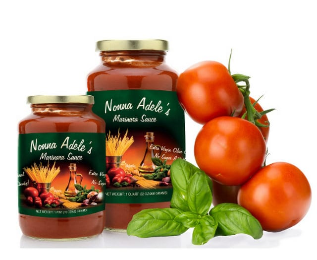 Custom Labels: Nonna Adele's