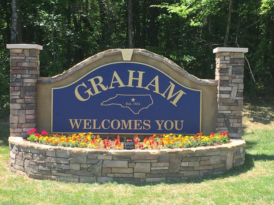 City Of Graham Sign